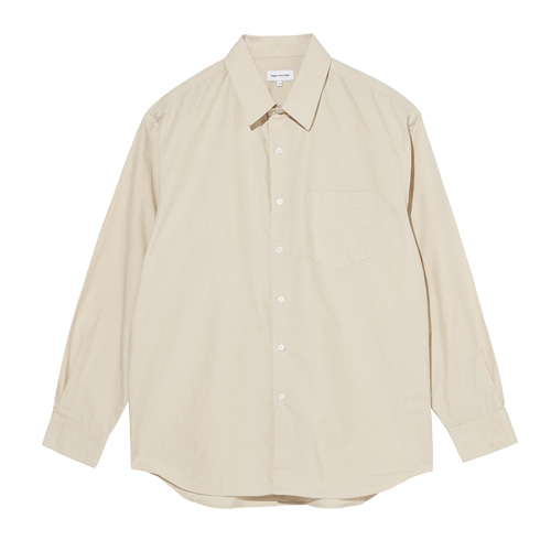 Relaxed Daily Shirts (Light Beige)