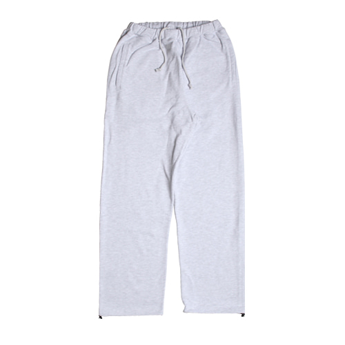 Daily Sweat Pants (White Melange)
