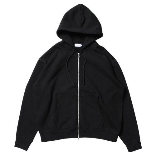 Daily Hood Zip Up (Black)