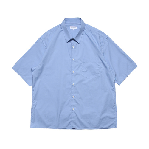 Relaxed Half Sleeved Daily Shirts (Sax Blue)