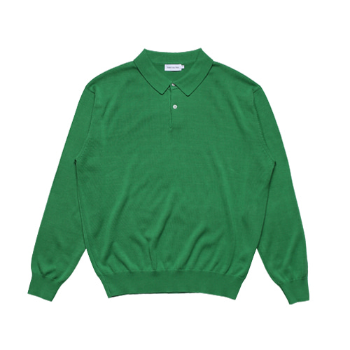 2B Cotton Collar Knit (Green)