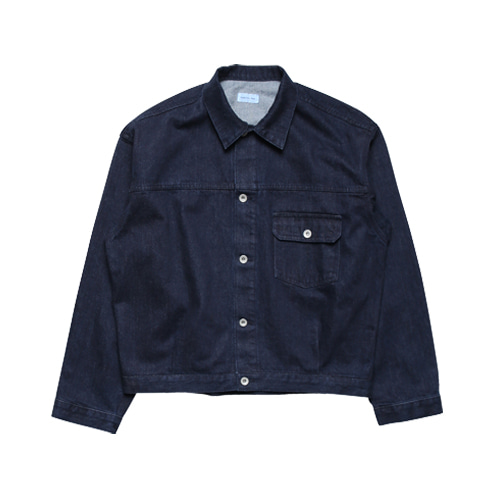 [5/14 예약배송] Relaxed Denim Jacket (Indigo)