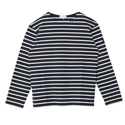 Basque Shirts (Navy Stripes)