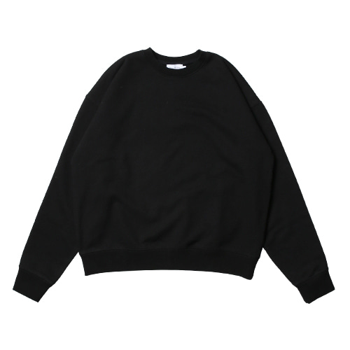 Relaxed Daily Sweat Shirts (Black)