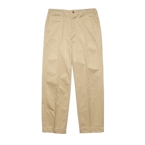 [SEW] Officer Chino Pants (Khaki Beige)