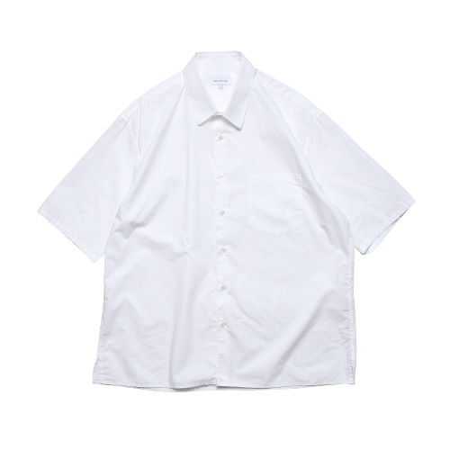 Relaxed Half Sleeved Daily Shirts (White)