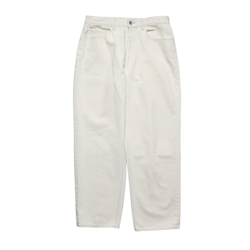 [5/14 예약배송] Relaxed Denim Pants (Natural)