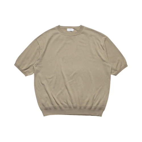 Relaxed Half Sleeved Knit (Olive Khaki)