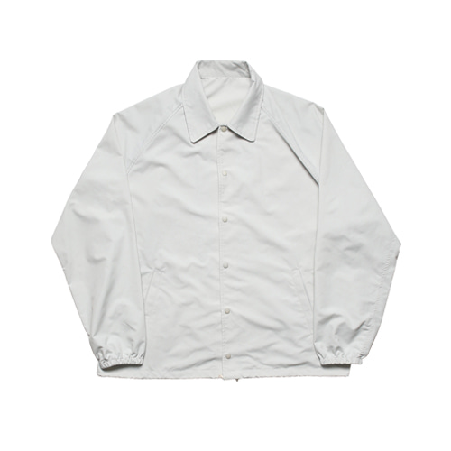 Easy Nylon Coach Jacket (Sand Beige)