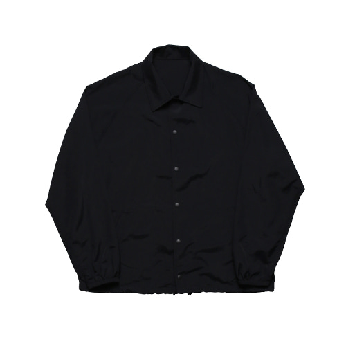 Easy Nylon Coach Jacket (Black)